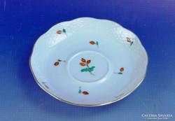 0F648 Régi Herendi hecsedlis porcelán kistányér