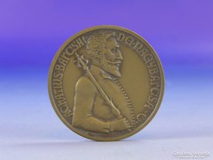 0F946 Achatius Barcsai jelzett bronz emlék érem
