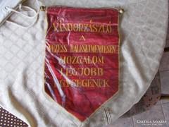 Socialista propaganda zászló