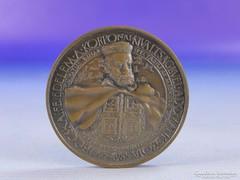 0F951 Korponai kiváltságlevél jelzett bronz érem