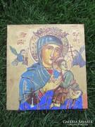 Ortodox IKON ANTIK festmény