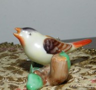 Antik herendi miniatúra madár