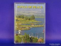 0G100 SONGS OF PEACE bontatlan dupla audio kazetta