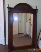 Gyönyörű nagy méretű ónémet tükör szép állapotban 151*93 cm