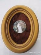 Royal Wienna(Altwien)  porcelán kép igazi antik kép