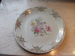 Antik virágos porcelán süteményes tálca eladó!
