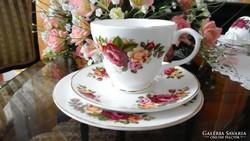 Sheltonian Bone China angol porcelán kávés/teás szett