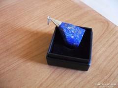 Hatalmas pirites lápis lazuli medál