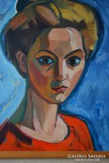 Józsa János Mária portréja