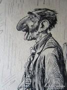 JUDAIKA ZSIDÓ RAJZ , LOTZ TANÍTVÁNY MÜNCHEN 1882