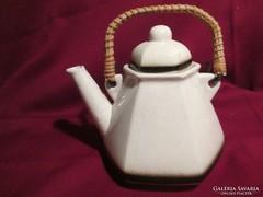 131.  Régi fajansz kávé v. tea kiöntő kanna