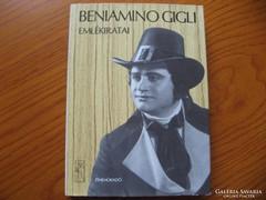 Benjamino GIGLI emlékiratai