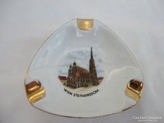 Lilien porcelán hamutartó- Wien Stephansdom székesegyház