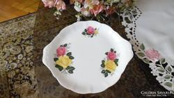 Royal Albert June Delight angol porcelán süteményes készlet