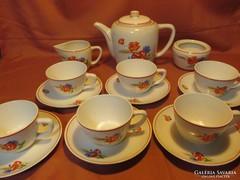 Kispesti Gránit pipacsos teás készlet