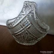 Gyönyörű Ólomkristály Kosárka