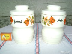 Kerámia fűszertartó - két darab - együtt eladó
