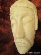 Terrakotta JÉZUS fej kb 2 kiló