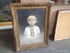 Kürti , szignált festmény eladó