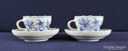 Meisseni teáscsészepár, 20. sz. eleje