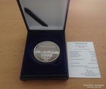 2002 Hortobágy ezüst 3000 Forint PP
