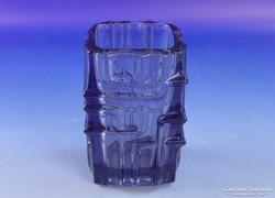0F559 Retro lila művészi üveg váza