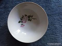 KAHLA jelzéssel, virág mintás porcelán tál