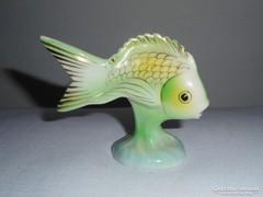 Hollóházi porcelán hal halacska