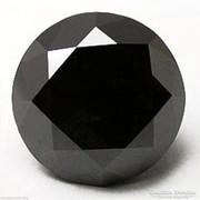 Csodás fekete gyémánt/moissanit Indiából 7,58 ct