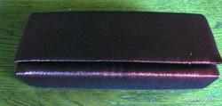 Bordó,23 x 11 cm színházi táska, bordó  X