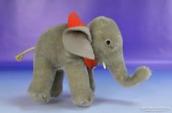 0H209 Régi jelzett STEIFF elefánt