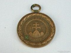 0H217 Antik irredenta sportérem bronzérem 30 mm