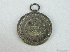 0H215 Antik irredenta sportérem ezüstérem 30 mm