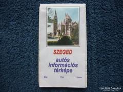 Szeged térkép eladó kissé használt.