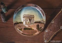 Üveg levélnehezék ( Párizs )