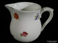 K233 Régi Zsolnay porcelán tejszínes kiöntő