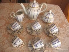 Zsolnay Antik teás ,ritkábban   előforduló szép ,mintával
