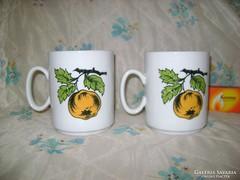 Zsolnay teás csésze párban eladó