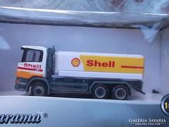 Schell autó tartálykocsi 1:87 modell
