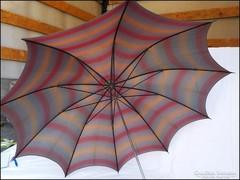 Retro fém esernyő