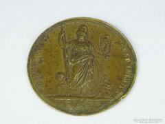 0H234 Régi Minerva varrógép bronz plakett