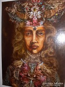 Otto Rapp painting / Native Princess of Middle-Earth