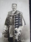 DÍSZMAGYAR FÁBRY JÓZSEF FOTÓfénykép NEMES MÁGNÁS 1889