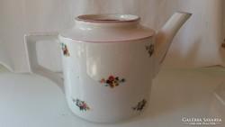 Zsolnay teás, kávés kiöntő