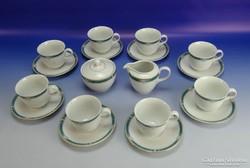 0G617 CHRISTOPHER STUART porcelán kávés készlet