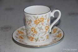 Royal Albert Orange Taffeta kávés csésze alátéttel