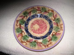 Antik Zsolnay  majolika tányér