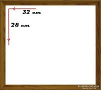 0H104 Régi vágható képkeret 32 x 28 cm