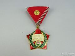 0H211 Szocreál patikai kiváló dolgozó kitüntetés