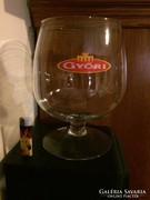 Hatalmas üveg kehely, óriás pohár